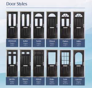 Composite Door styles