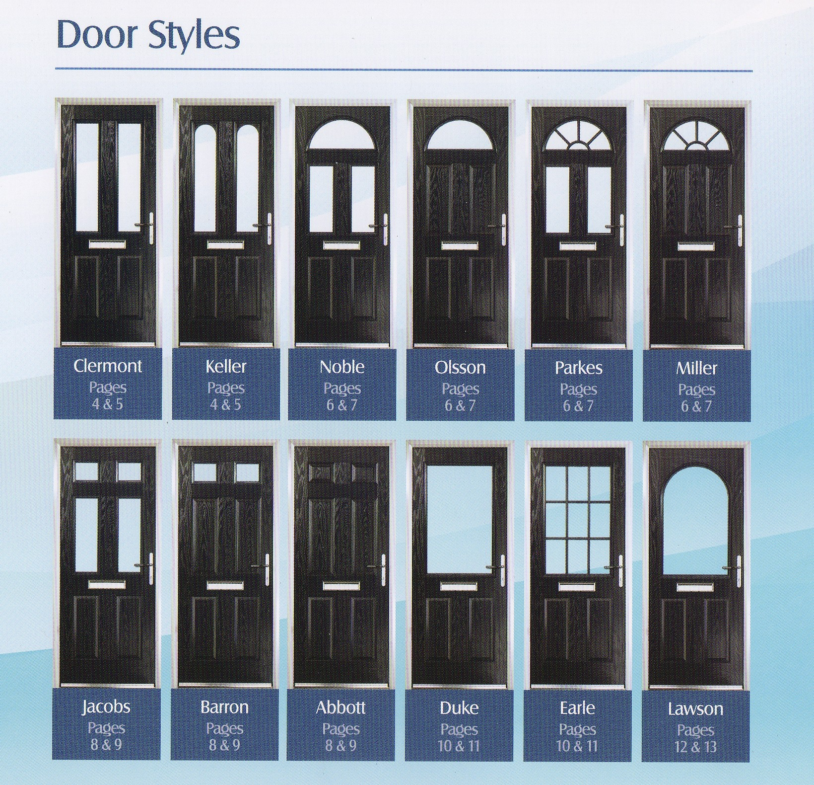 Composite doors meir glass centre stoke on trent for Front entry door styles